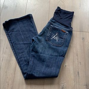 7 for all Mankind Maternity Jean ~29/30